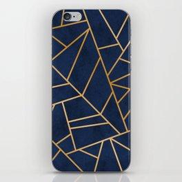 Art Deco Blue iPhone Skin