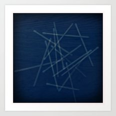 Pick Up Sticks Art Print
