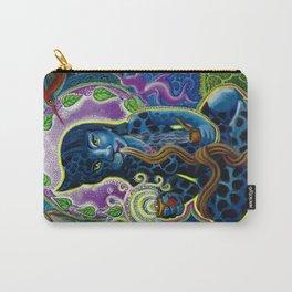 Jaguar Shaman Woman Carry-All Pouch