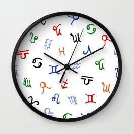 Lucky zodiac Wall Clock