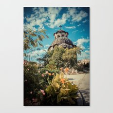 Garden Church  Canvas Print