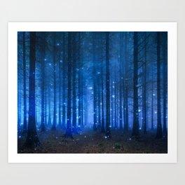 Dreamy Woods II Art Print