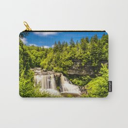 Blackwater Falls State Park West Virginia Waterfall Nature Landscape Photography Print Carry-All Pouch