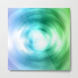 Cool Shade Swirl Metal Print