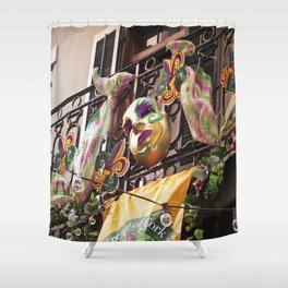 Krewe of Cork Shower Curtain