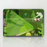 pool iPad Cases featuring Pool by Robin Curtiss