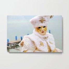 Venetian carnival Metal Print