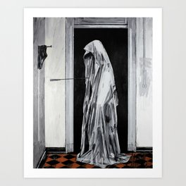 Cursed to live forever. Art Print