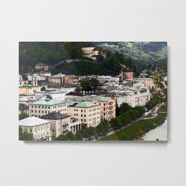 Salzburg Metal Print