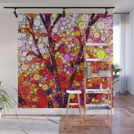 Planting Cherry Trees Wall Mural