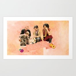 Coldwater-Waugh Family Art Print