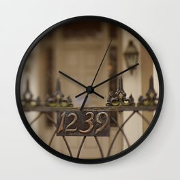 New Orleans 1239 Gate Wall Clock