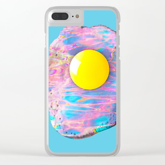 Fried fluidity Clear iPhone Case