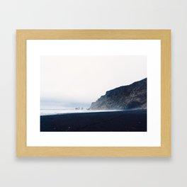 Vik Black Sand Beach, Iceland Framed Art Print