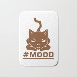#MOOD Cat Brown Bath Mat