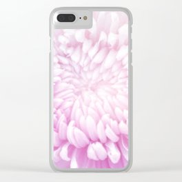 Pink Surrender Clear iPhone Case