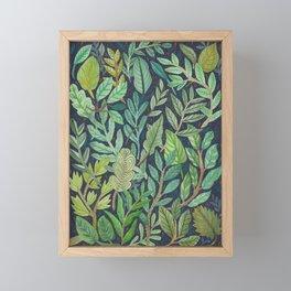 To The Forest Floor Framed Mini Art Print