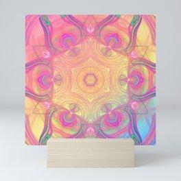 Psychedelic Kaleidoscope Mini Art Print