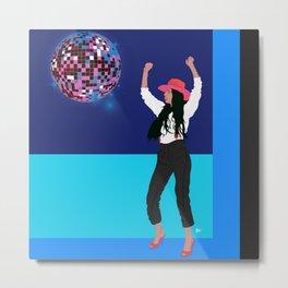 disco dance diva Metal Print