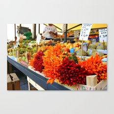 Market Place Canvas Print