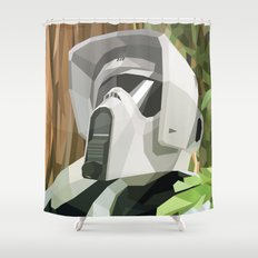 Scout Trooper Shower Curtain