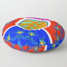 Medicine Wheels Floor Pillow