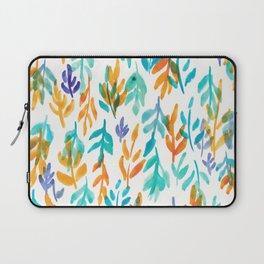 180726 Abstract Leaves Botanical 23 Botanical Illustrations Laptop Sleeve