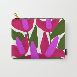 Purple Pink Marvels Carry-All Pouch