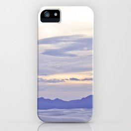 Purple Mountain Majesty iPhone Case