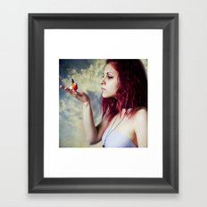 shh, let's keep it a secret! Framed Art Print
