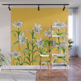 Lilies Wall Mural
