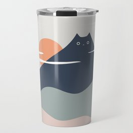 Cat Landscape 21 Travel Mug