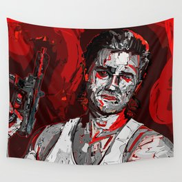 Its all in the reflexes Wall Tapestry