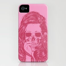 Skull Girl 1 Slim Case iPhone (4, 4s)