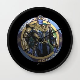 Thanos - Guardians of the Galaxy Wall Clock