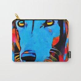 Saluki Portrait Carry-All Pouch