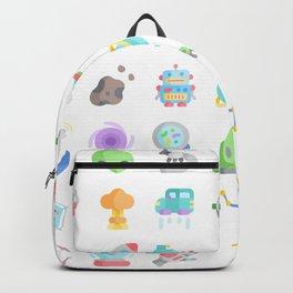 CUTE SCIENCE / SPACE / SCI-FI PATTERN Backpack