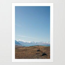 Lake Tekapo III Art Print