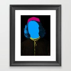 Pop Portrait Disaster 3 Framed Art Print