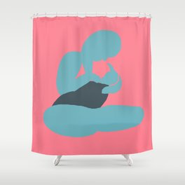 Mother and Child (Brights after Matisse) Shower Curtain