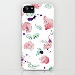 blazz studios: Spring Tulips iPhone Case