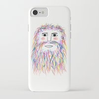 wizard iPhone & iPod Cases featuring Wizard by Simbo