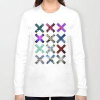 hologram Long Sleeve T-shirts featuring XXX by Sara Eshak