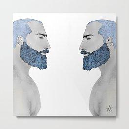 BEARD PHILS Metal Print
