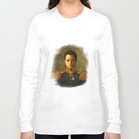 replaceface Long Sleeve T-shirts featuring Elijah Wood - replaceface by replaceface