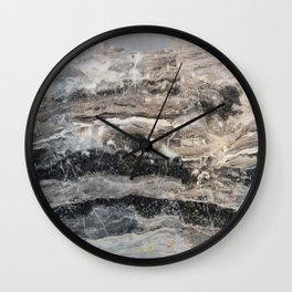 Deep Marble Wall Clock