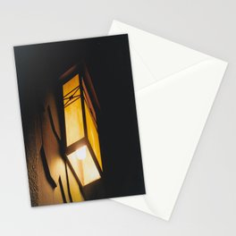 Light Rids Darkness-Film Camera Stationery Cards
