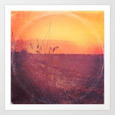 Morning On Madeira Beach - America As Album Art Art Print