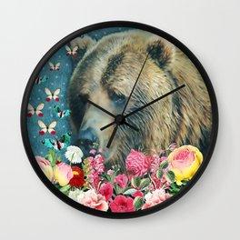 Summer Garden 3 Wall Clock