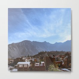 Canyon Village Metal Print